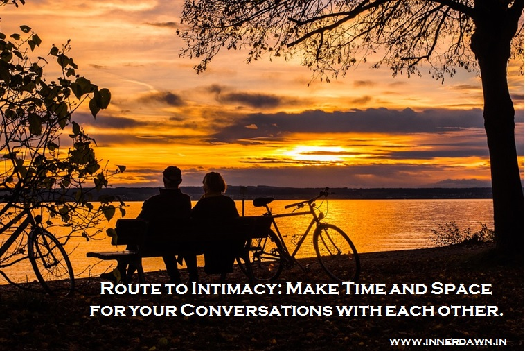 Inner Dawn Counselling-Route to Intimacy-Couple Talk