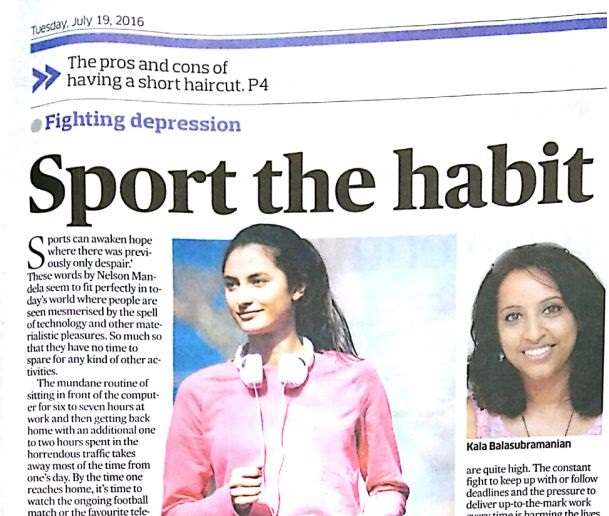 Sports: The Habit to fight depression
